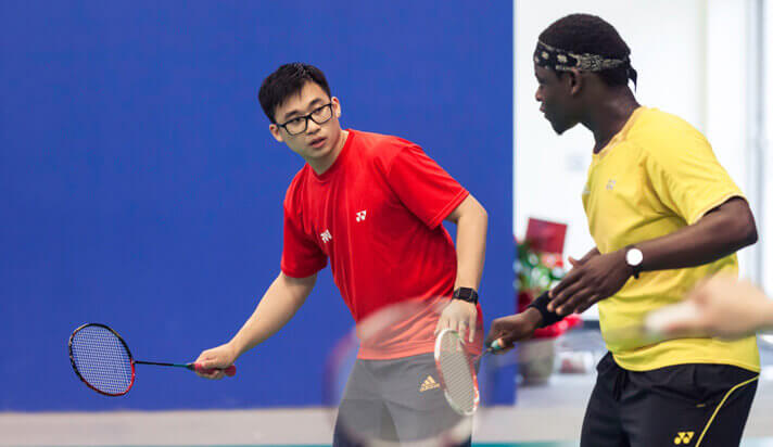 Badminton coaching courses